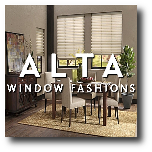 Advantage Window Coverings Woodbury MN carries affordable Blinds, Shutters, Window Coverings and Window Treatments by Alta Window Fashions