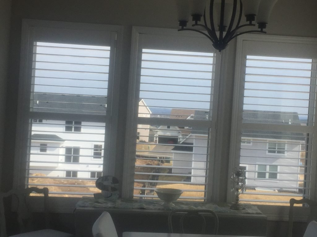 """Graber 3"""" Wood Shutters 5"""" Louvers in Woodbury"""